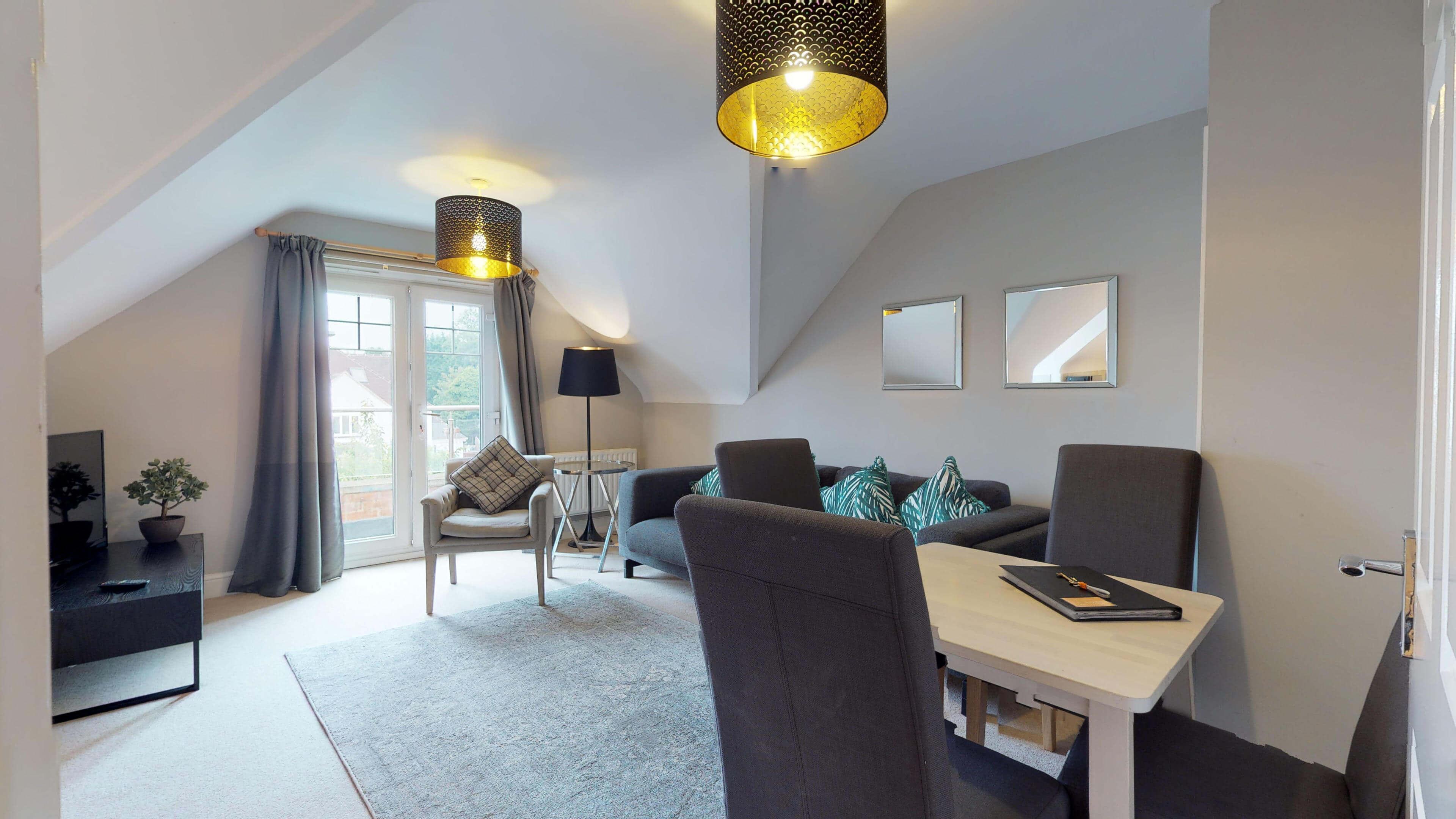 Oxford Serviced Apartment Vanbrugh Spencer Suite Living Room