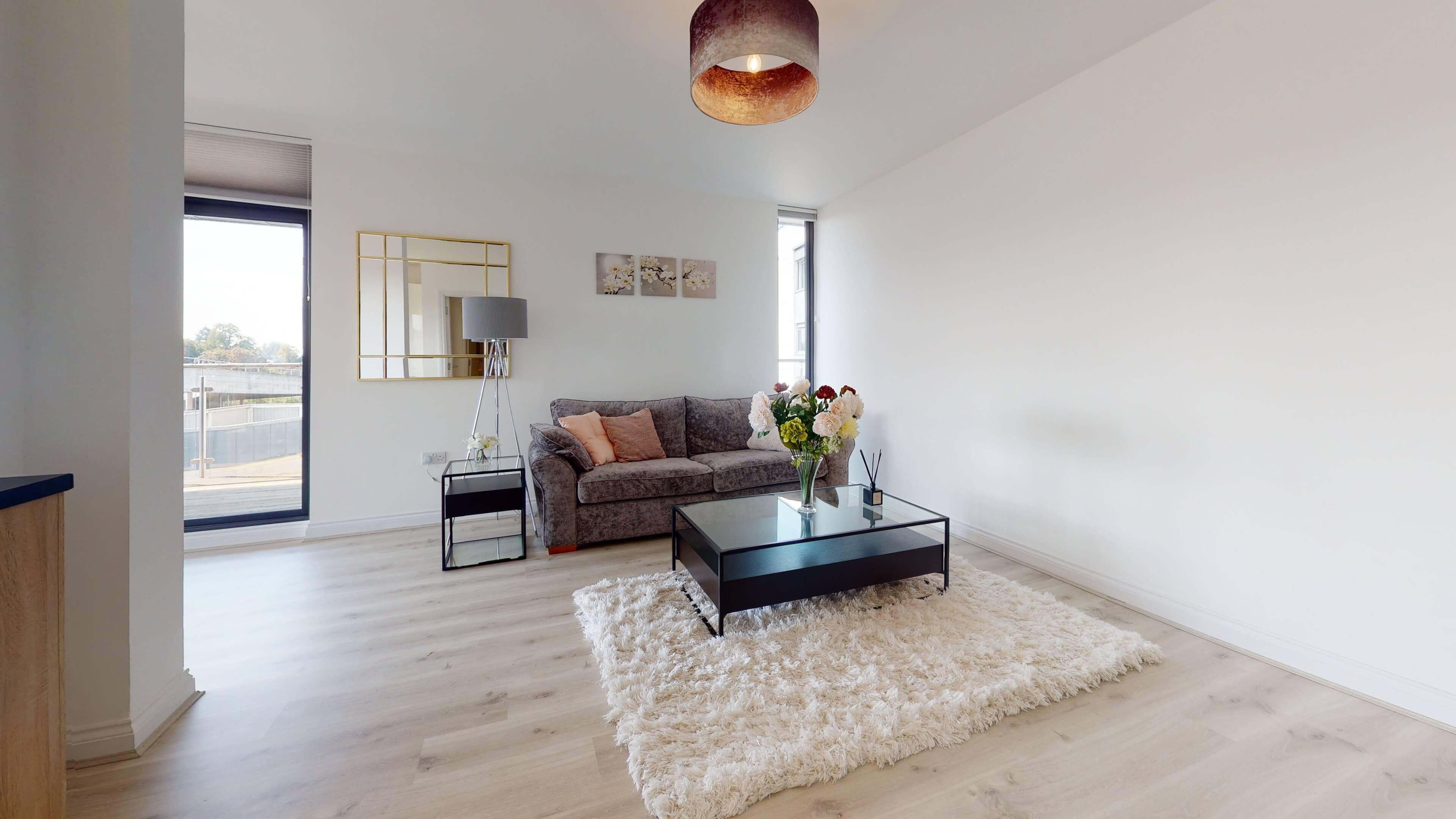 Wesley Lane Bicester Apartment Living Room