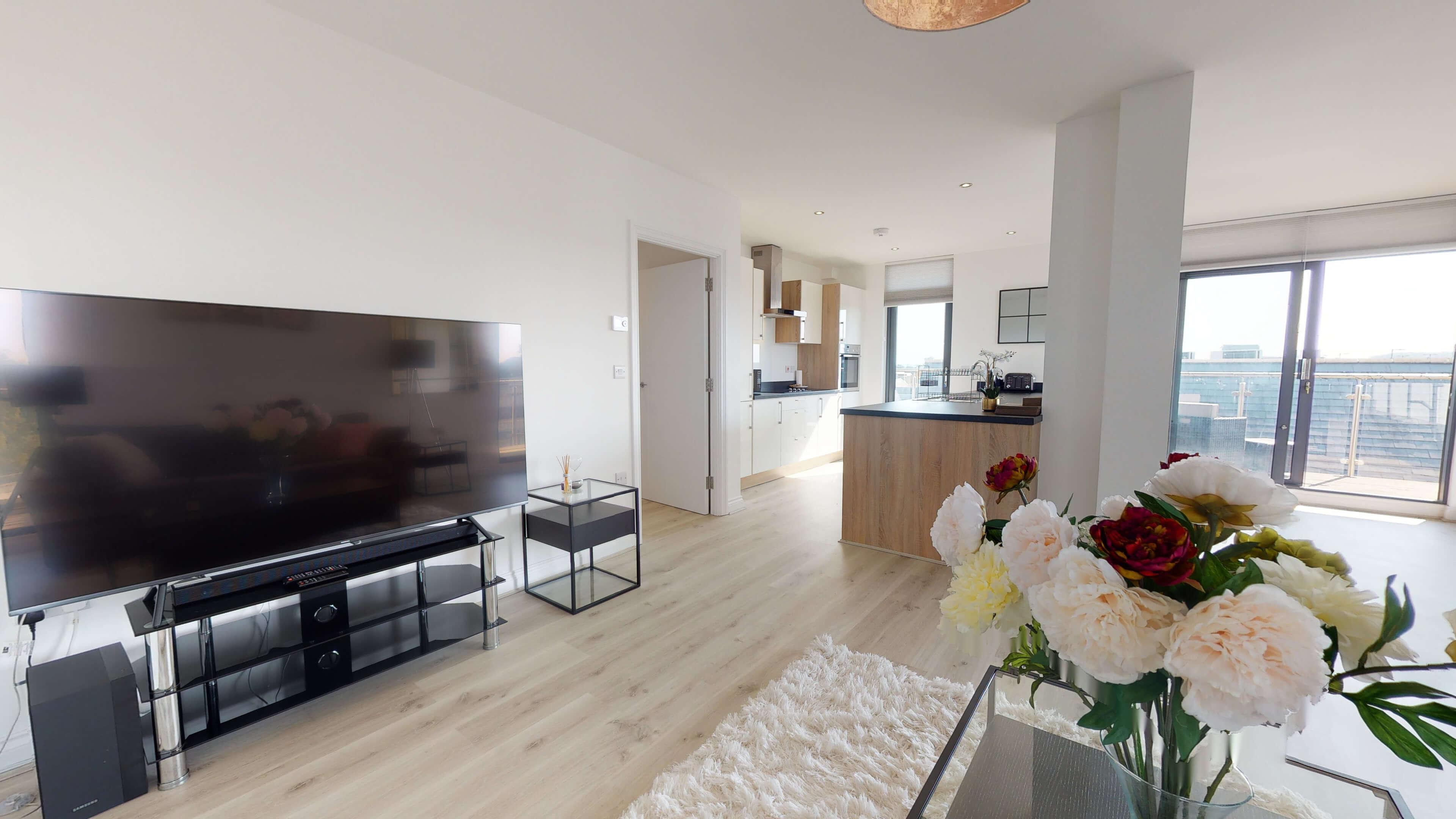 Wesley Lane Bicester Apartment Wesley Lane Living Room