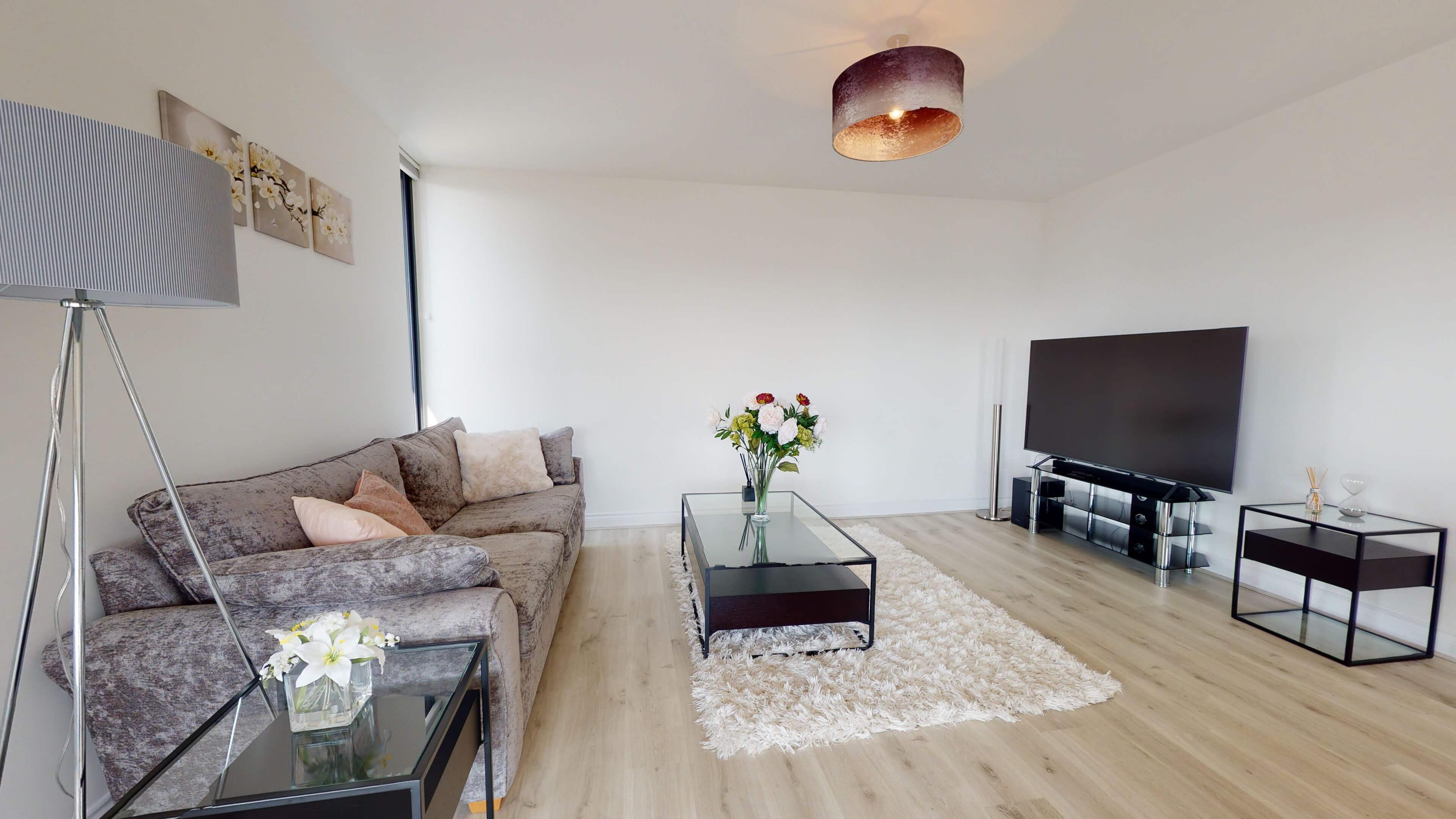 Wesley Lane Bicester Apartment Wesley Lane Living Room 3