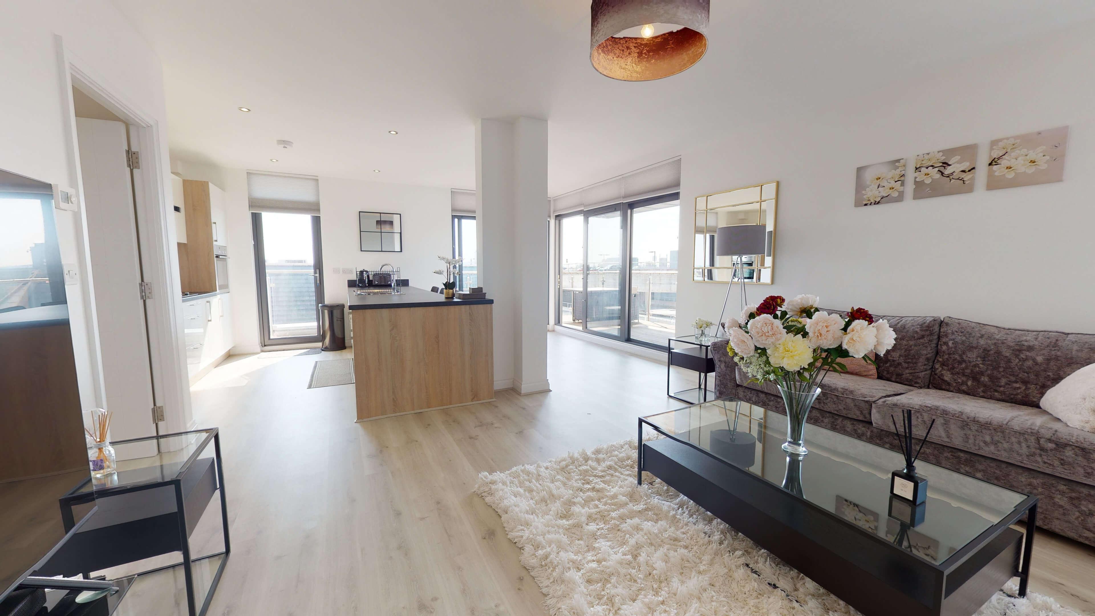 Wesley Lane Bicester Apartment Wesley Lane Living Room 2