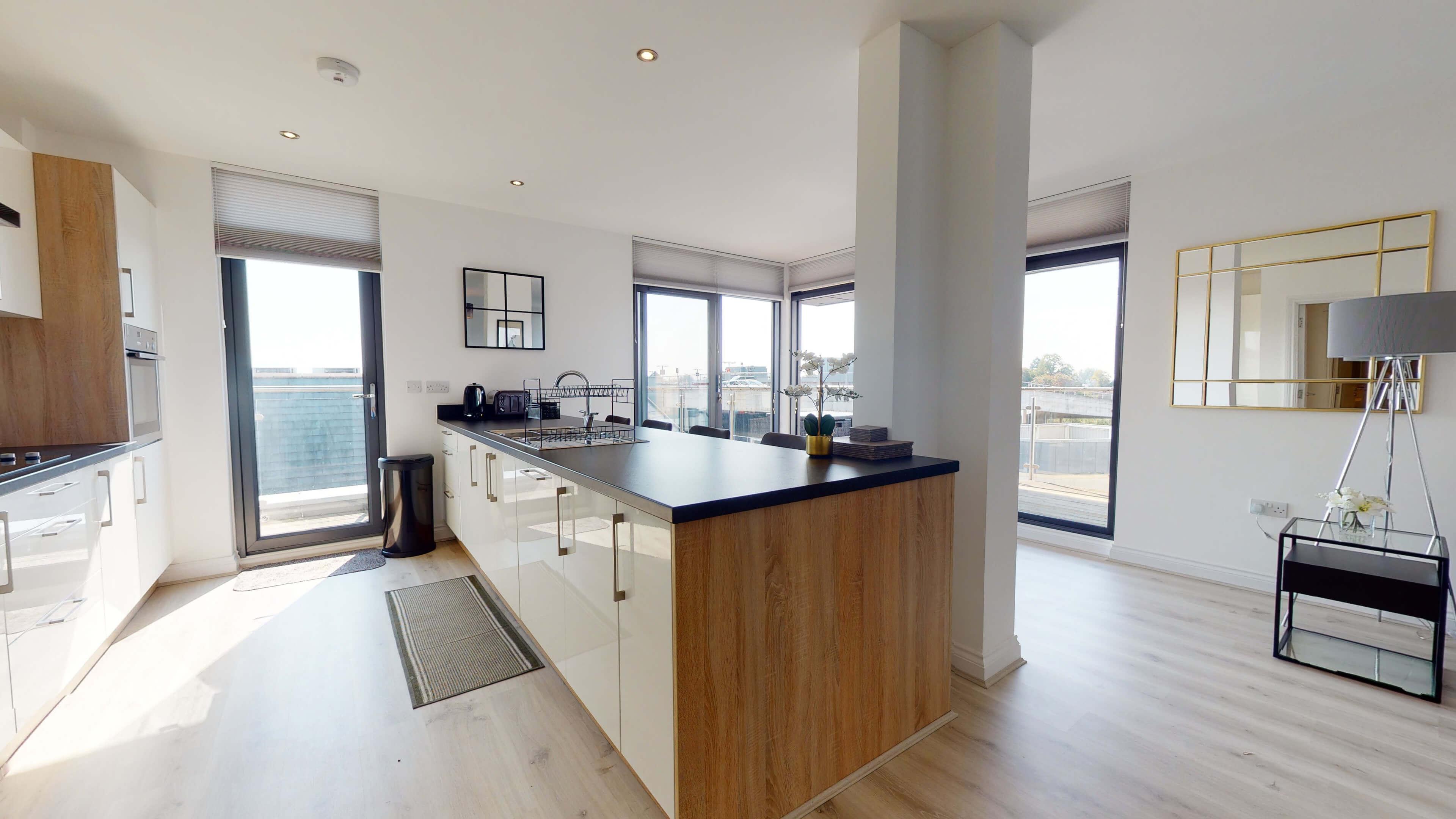 Wesley Lane Bicester Apartment Wesley Lane Kitchen 2
