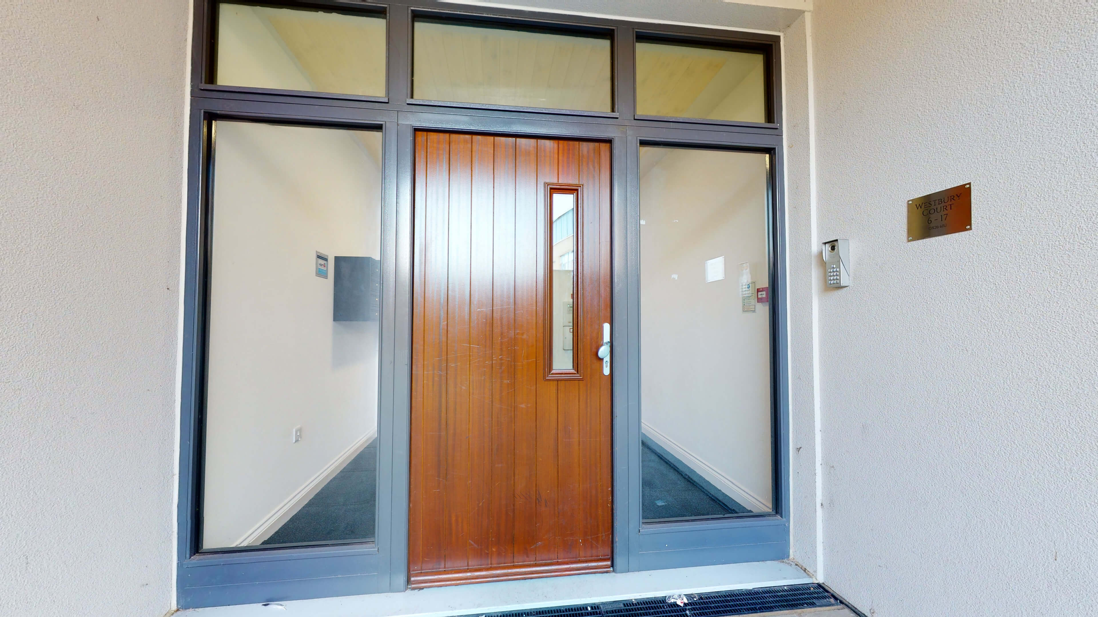 Wesley Lane Bicester Apartment Wesley Lane Entrance