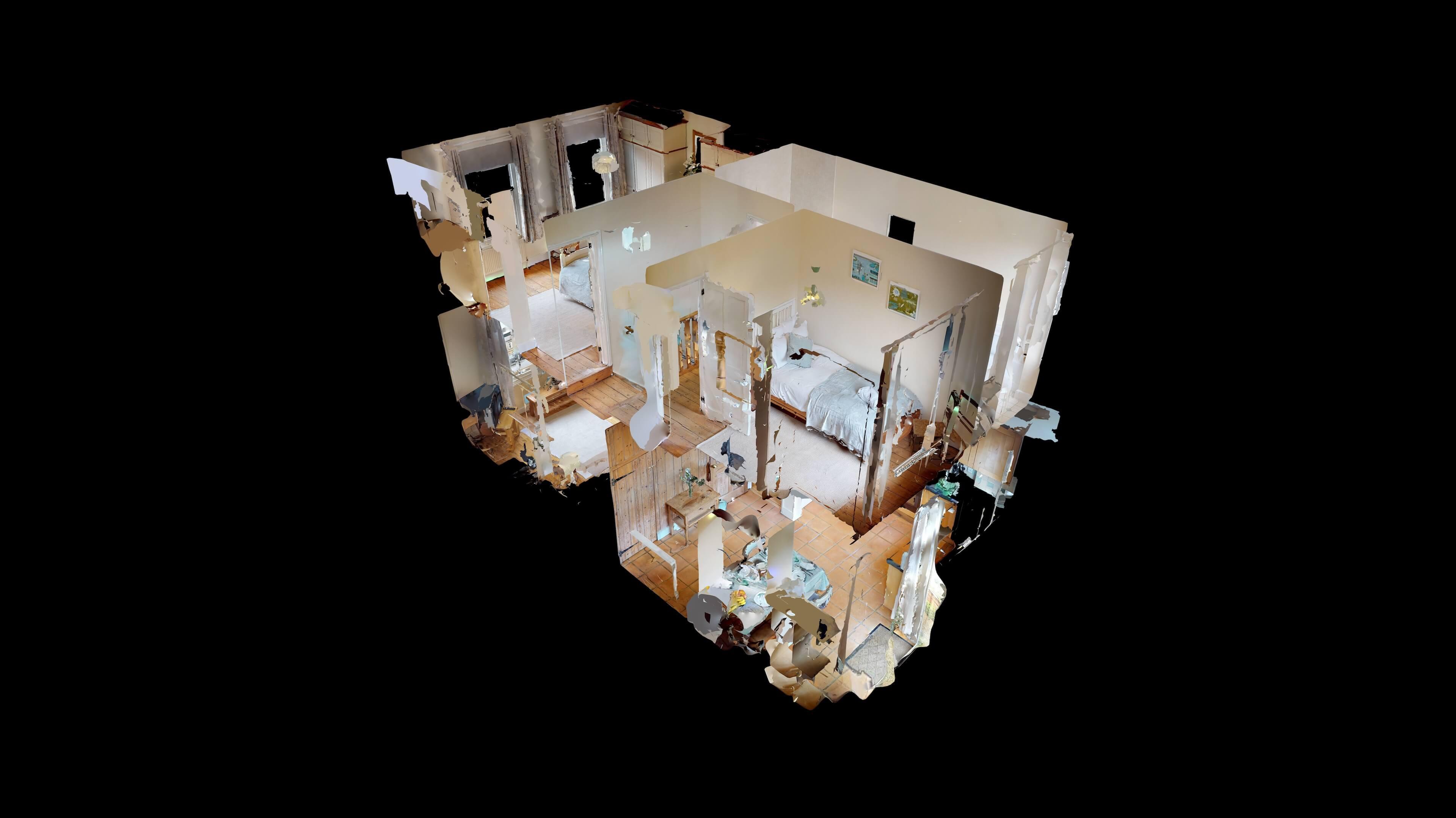 Oxford Two Bedroom Abbey Road Dollshouse