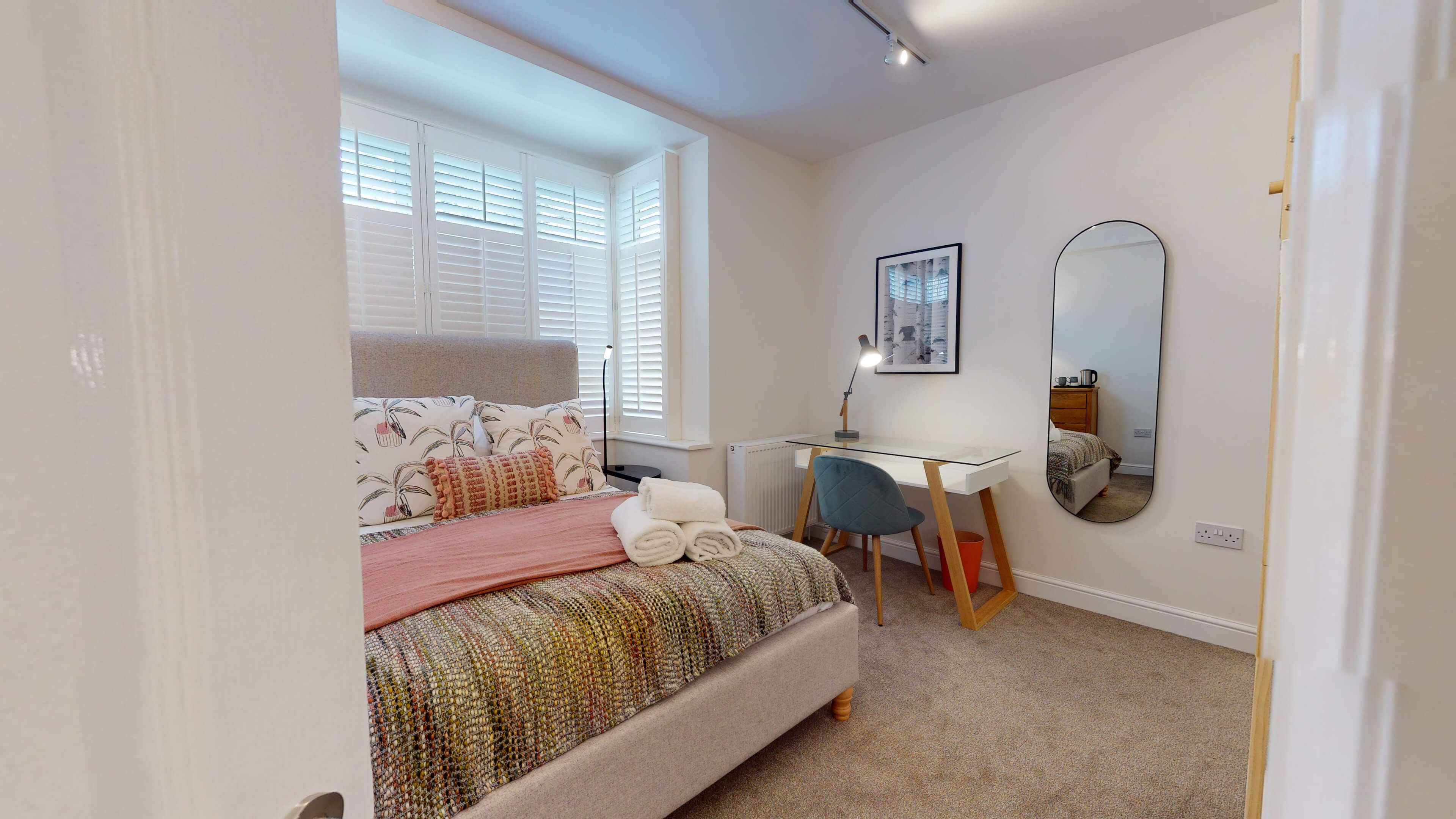 The Oxford Lodge Oriel Suite 1 Oxford Lodge Oriel Suite Bedroom