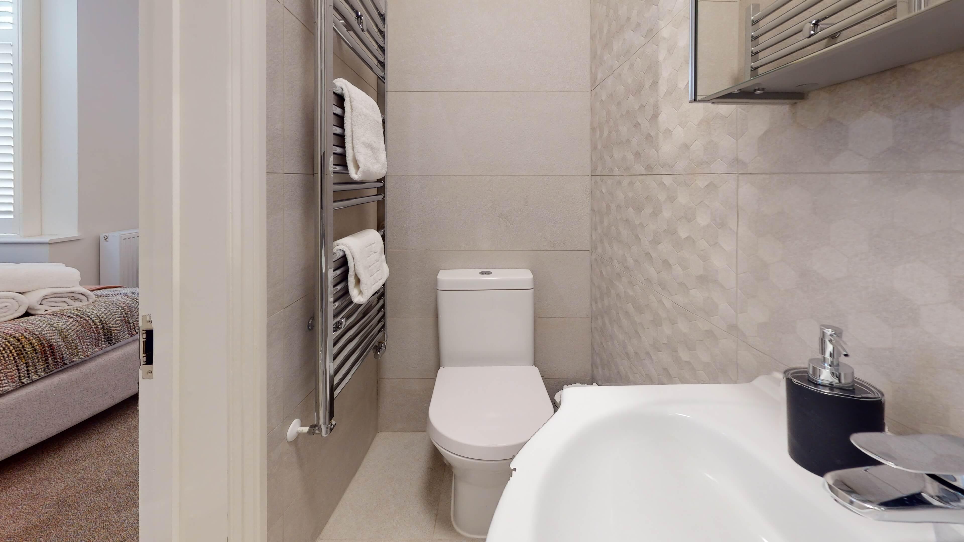 The Oxford Lodge Oriel Suite 1 Oxford Lodge Oriel Suite Bathroom3