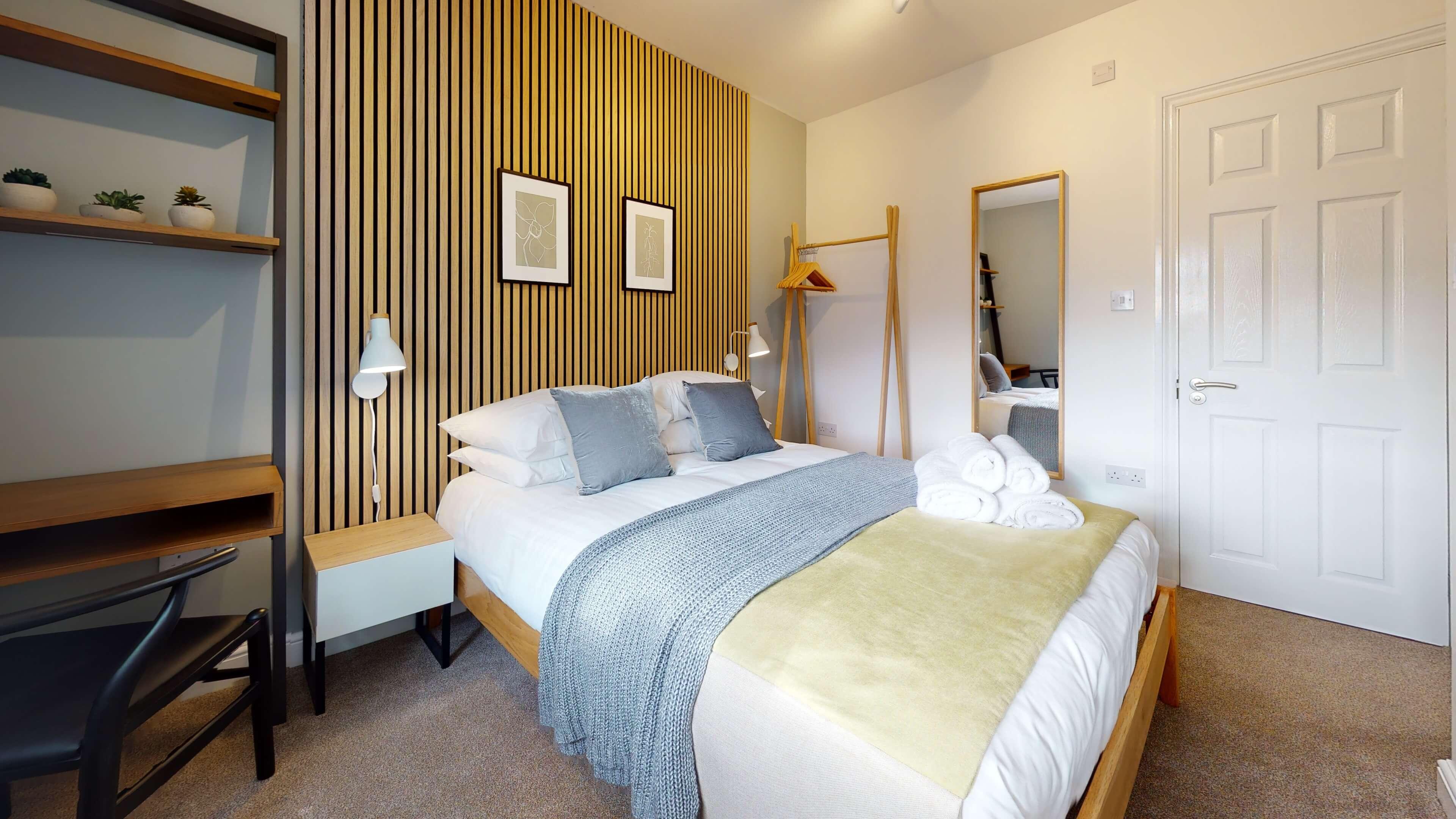 The Oxford Lodge Pembroke Suite 3 The Oxford Lodge Pembroke Suite Bedroom