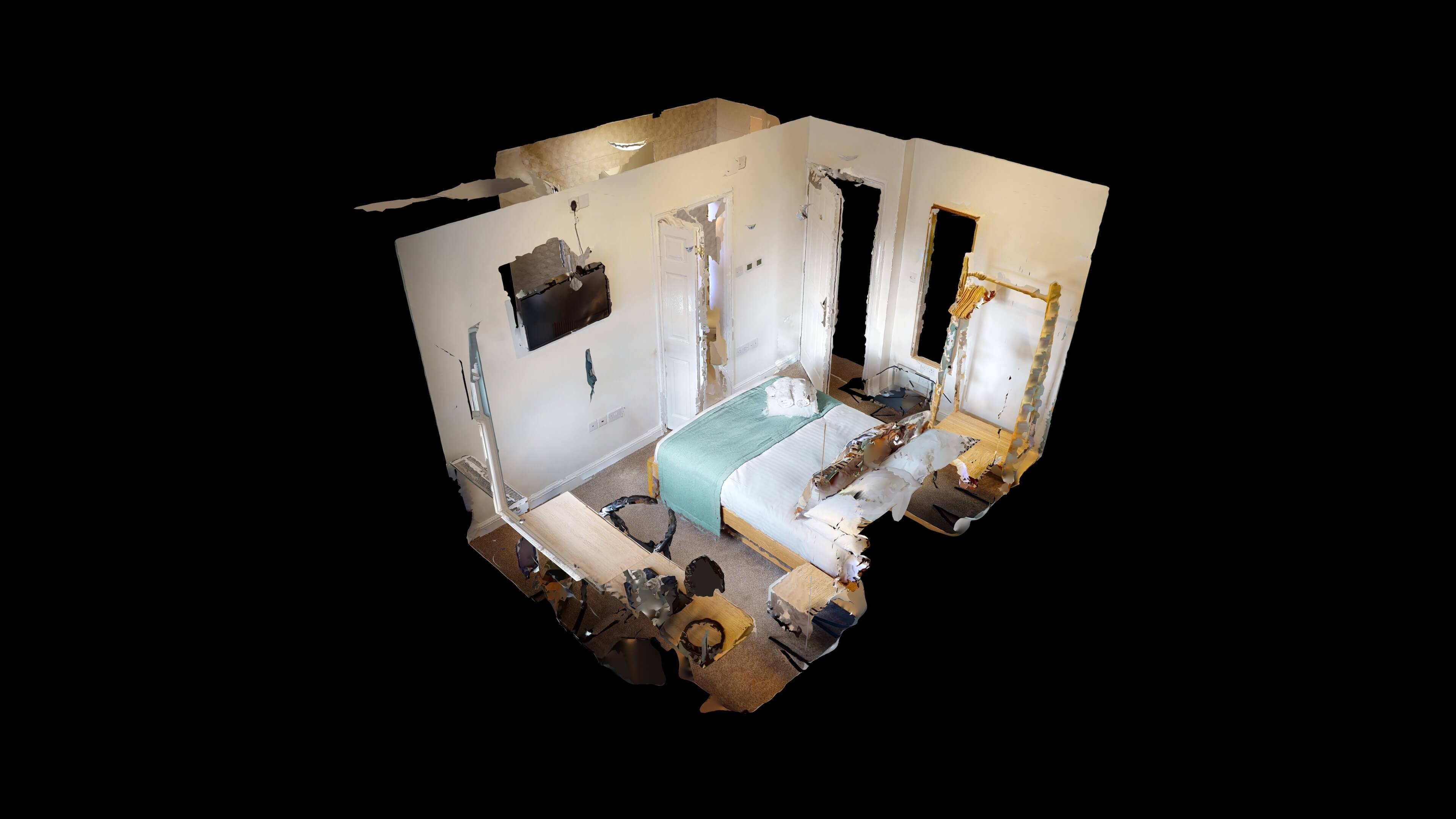 The Oxford Lodge Balliol Suite 4 The Oxford Lodge Balliol Suite Dollhouse View