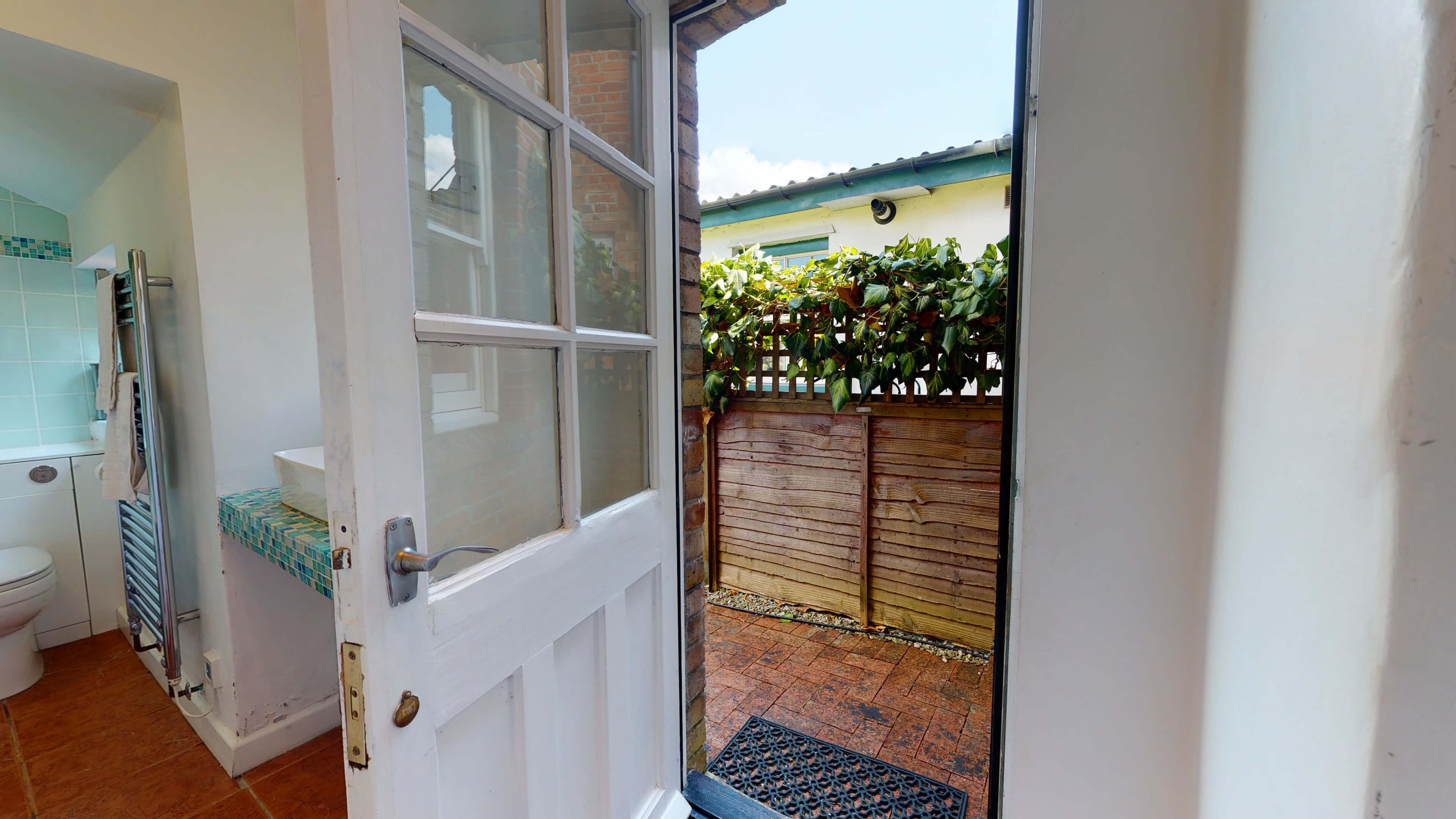 Quince Cottage Quince Cottage Rear Door1