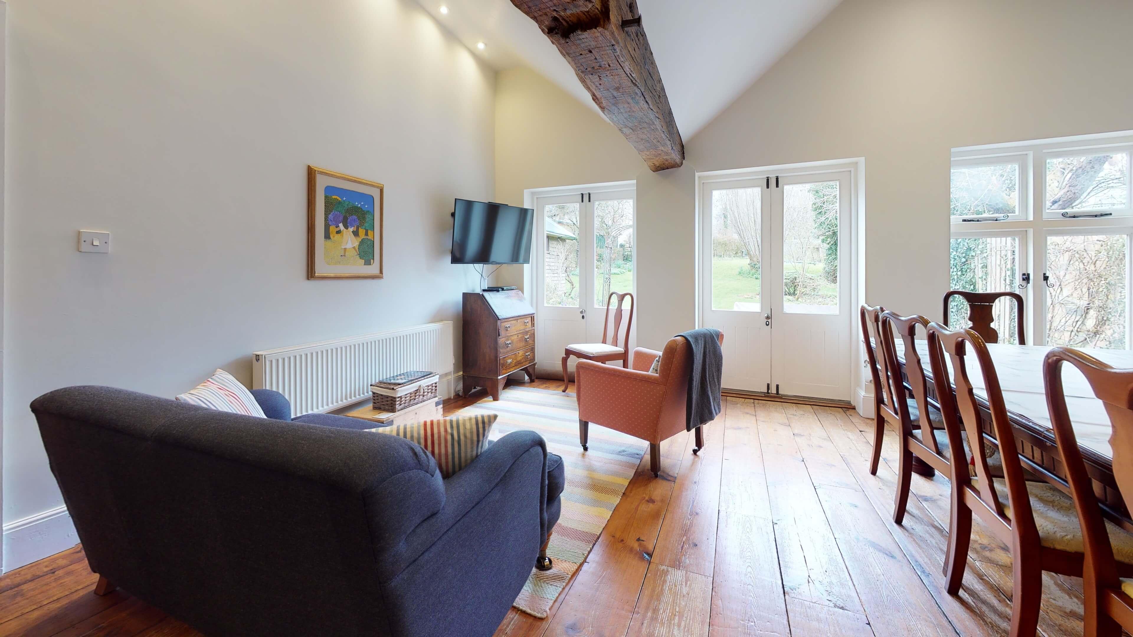 Orchard Cottage Living Room