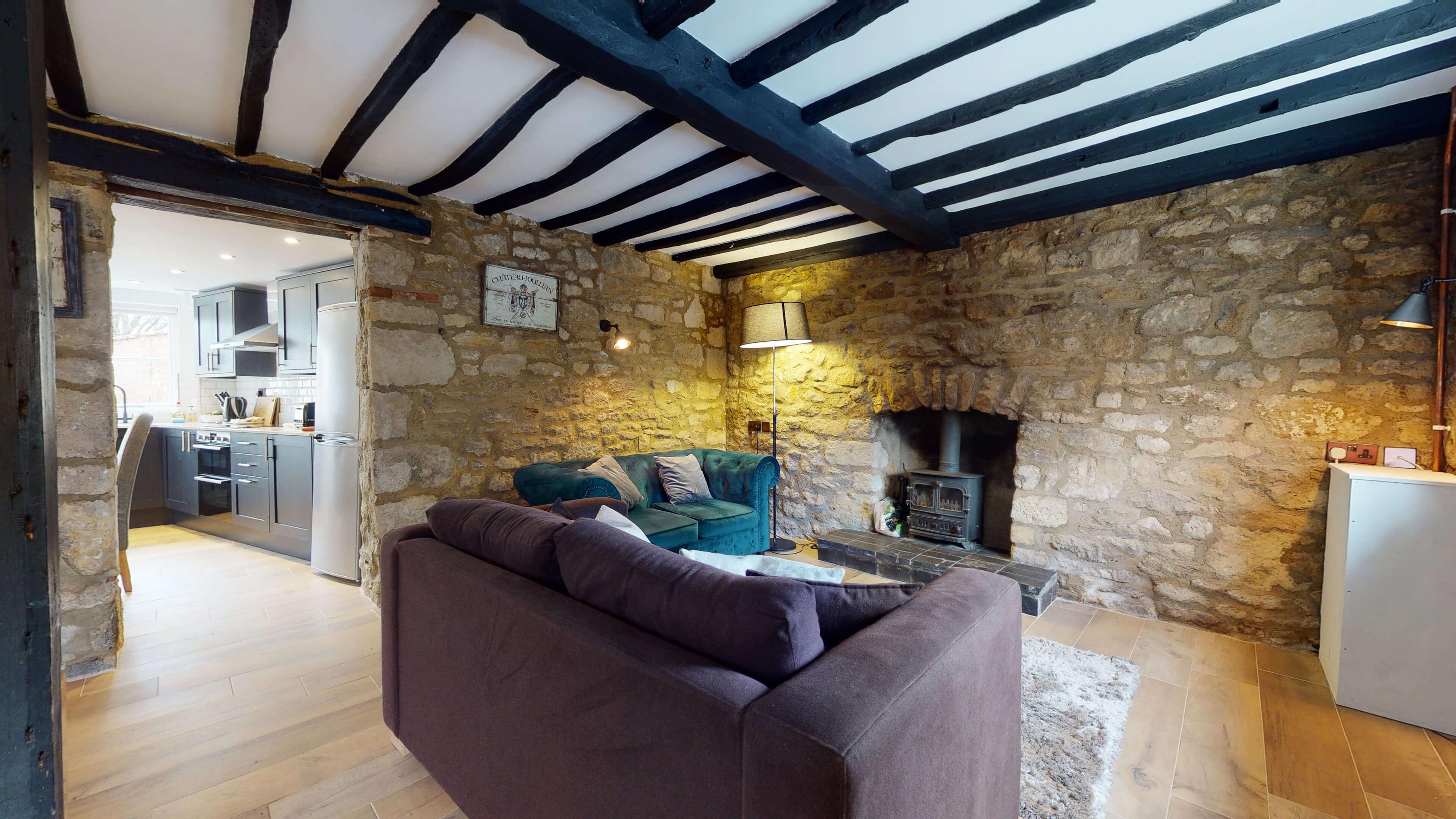 Bushnells Cottage Living Room 2