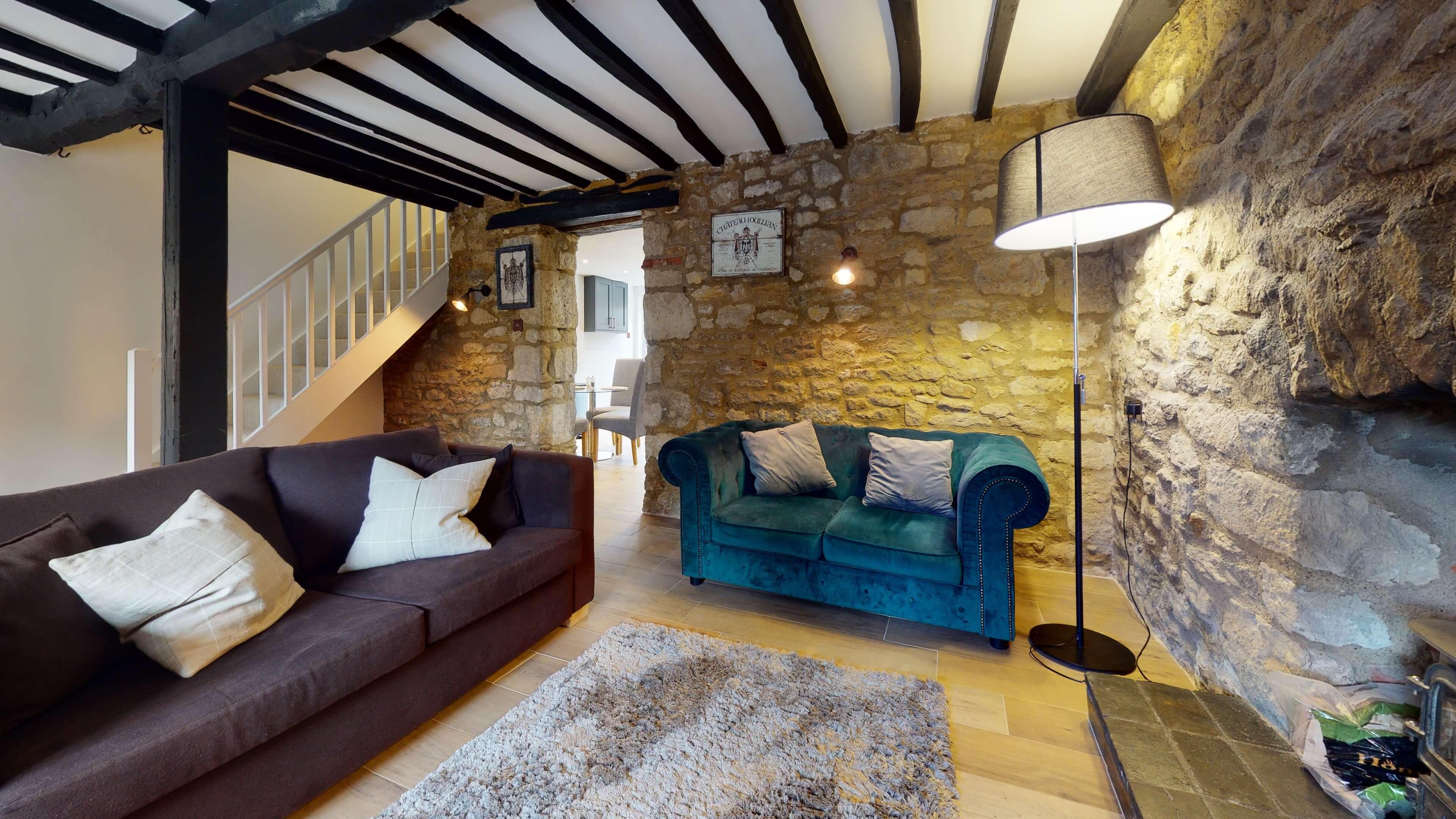 Bushnells Cottage Living Room