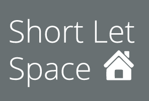 Short Let Space Logo Cotswold Cobble Reversed