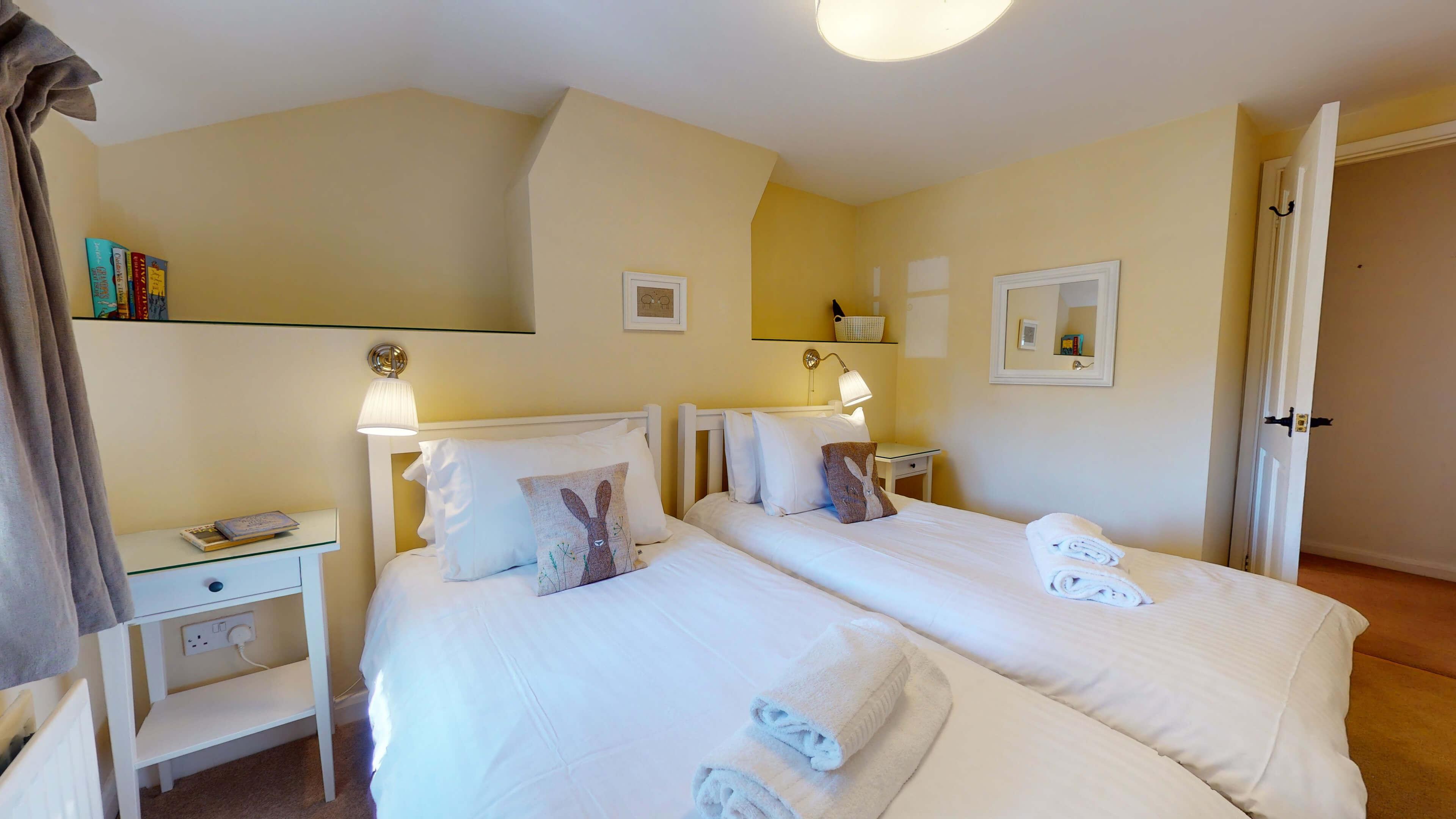 Jasmine Cottage Jasmine Cottage Twin Bedroom1