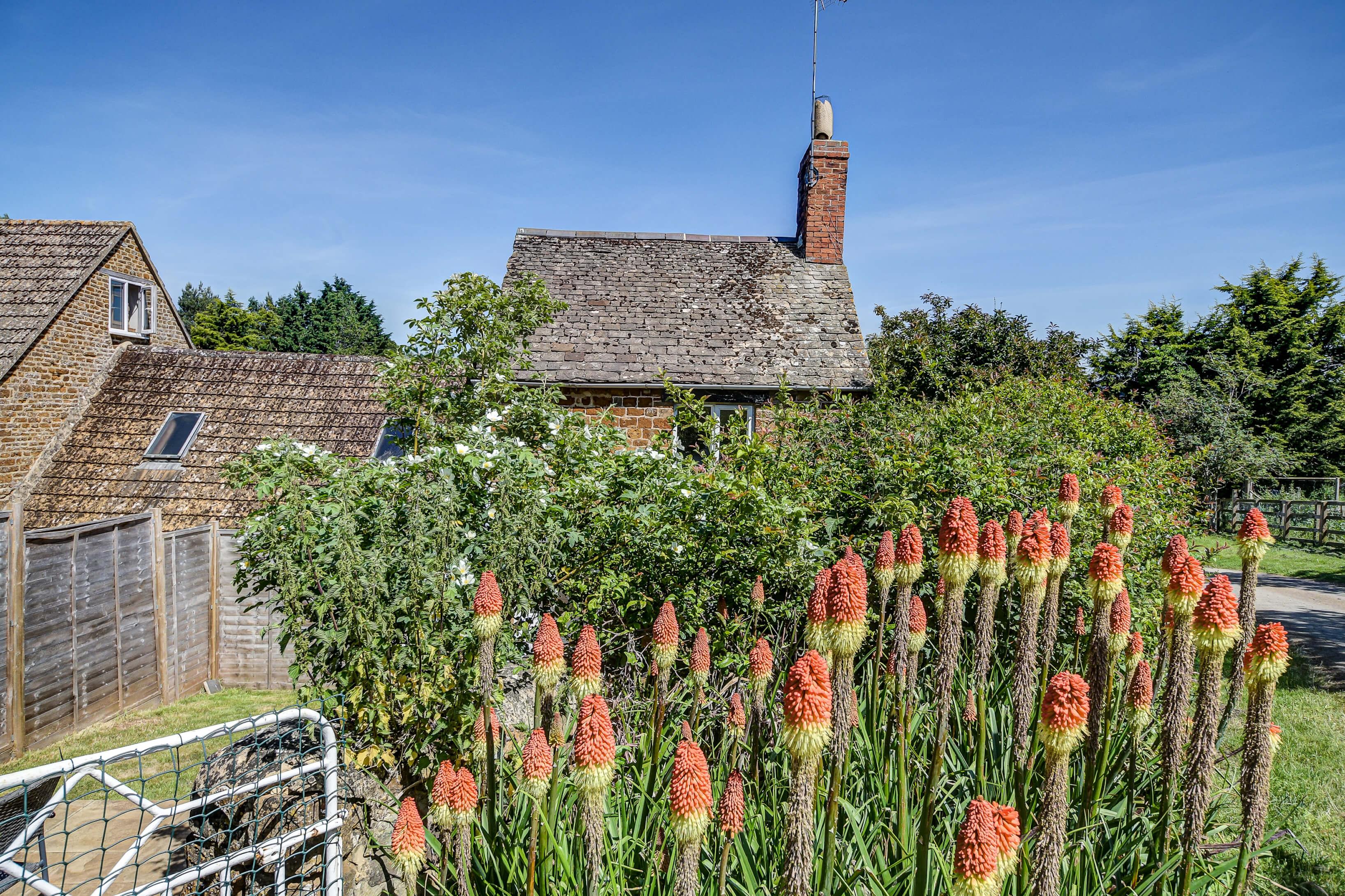 Rose Cottage Garden Front