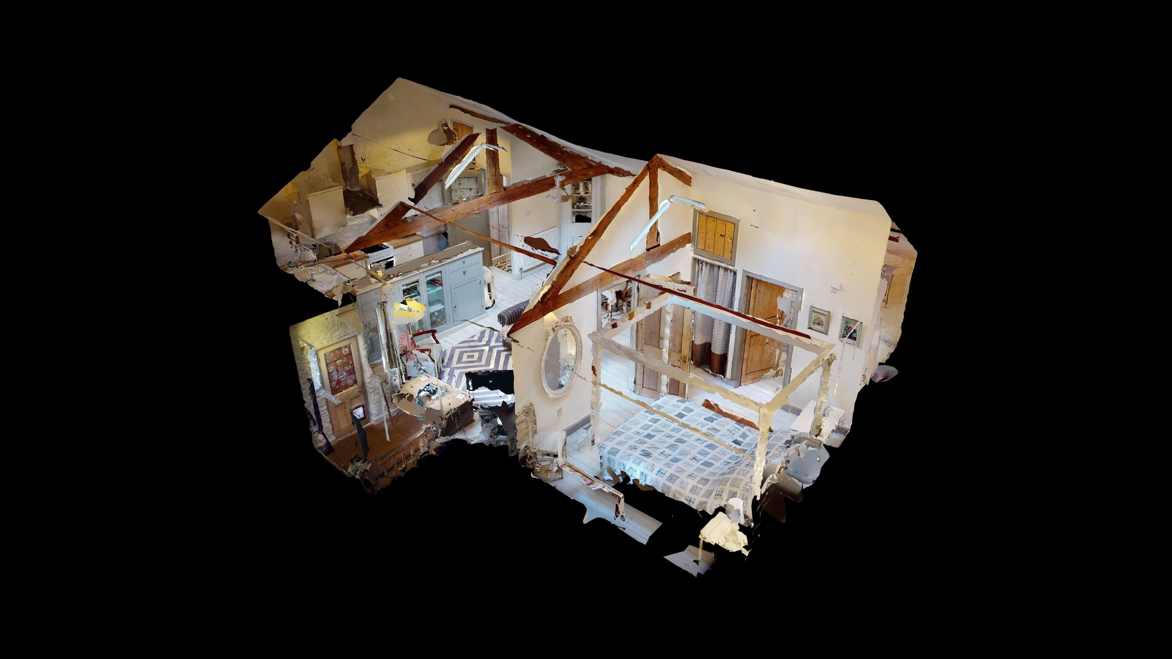 The Hayloft Dollhouse View