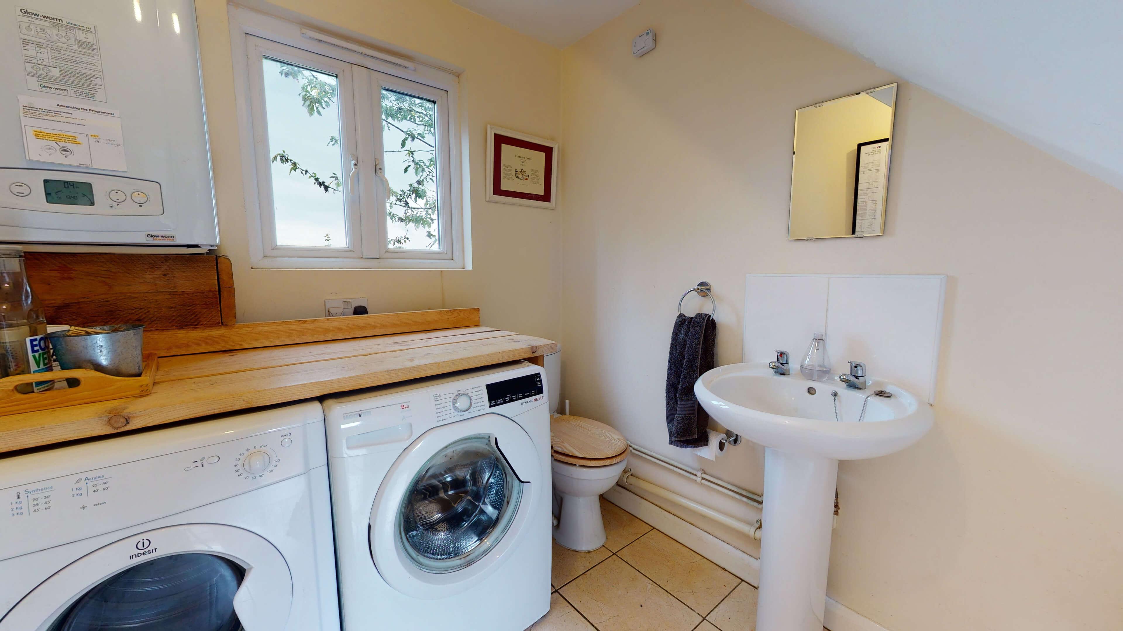 Sansoms Cottage Sansoms Loft Utility