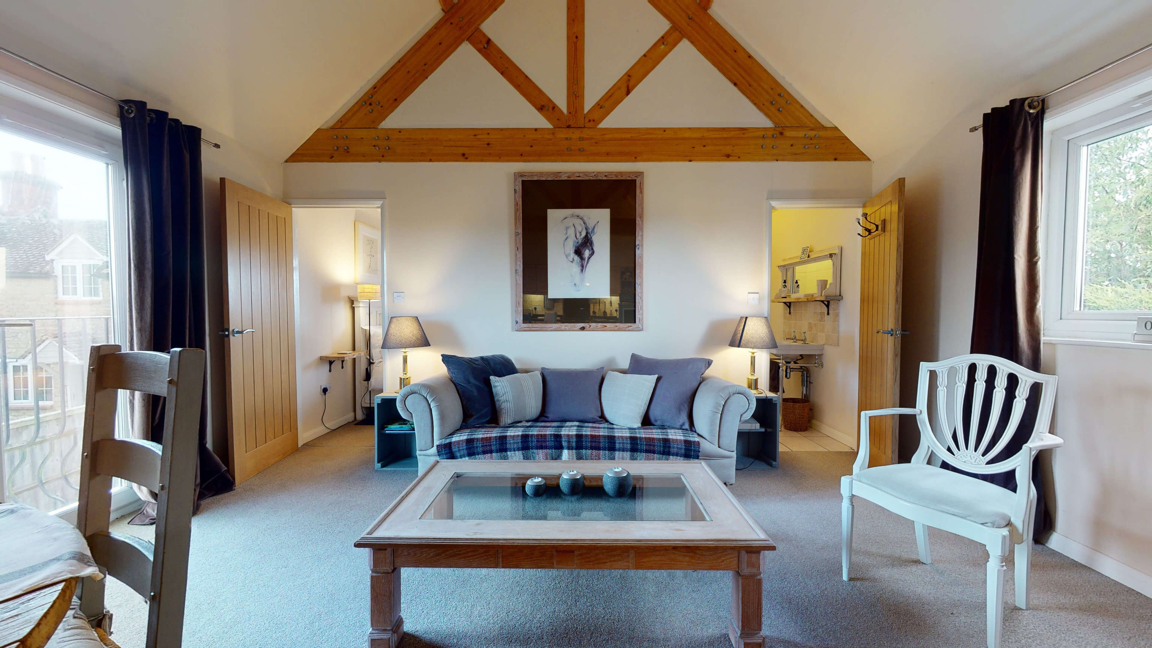 Sansoms Cottage Sansoms Loft Living 2