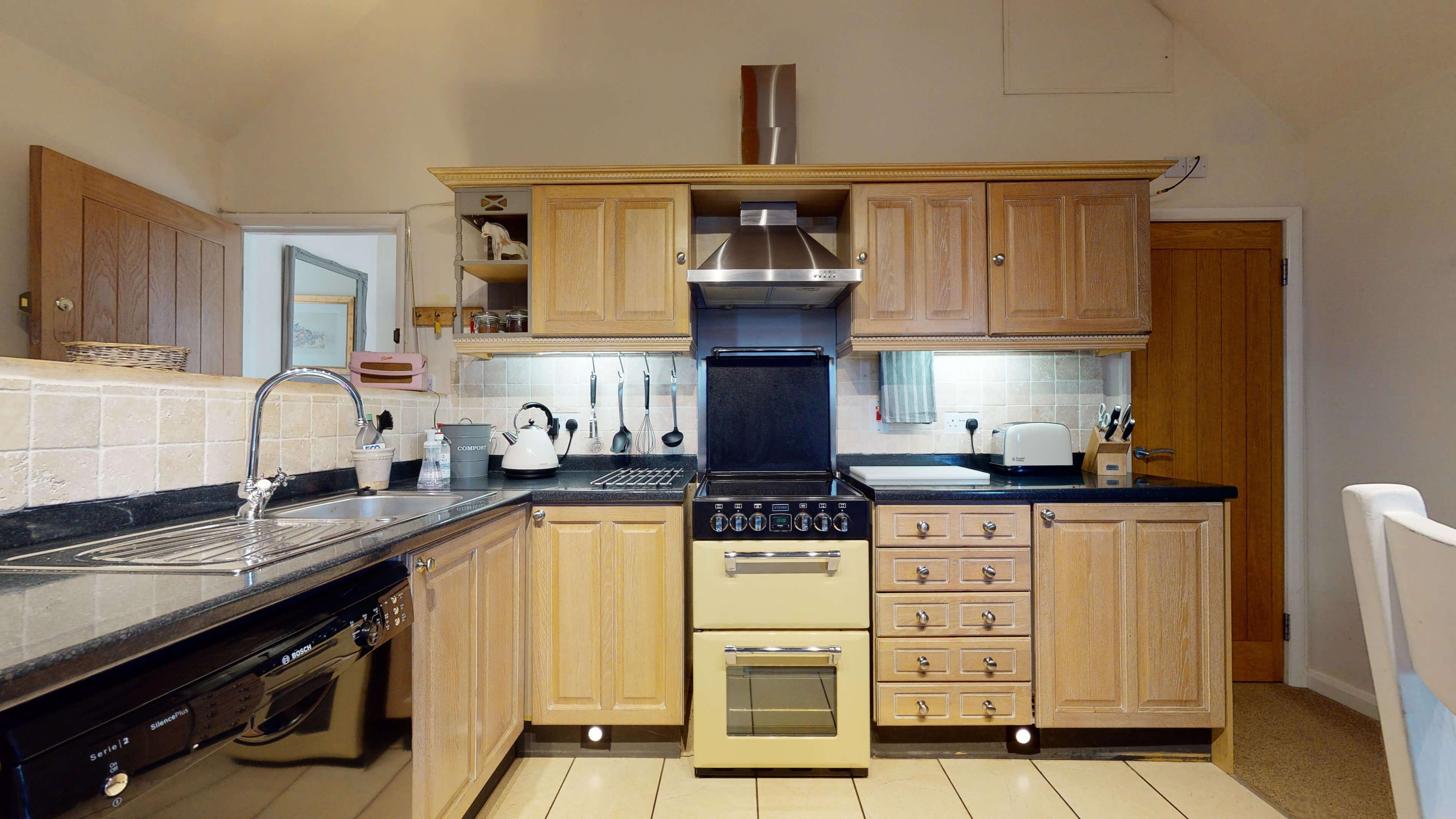 Sansoms Cottage Sansoms Loft Kitchen