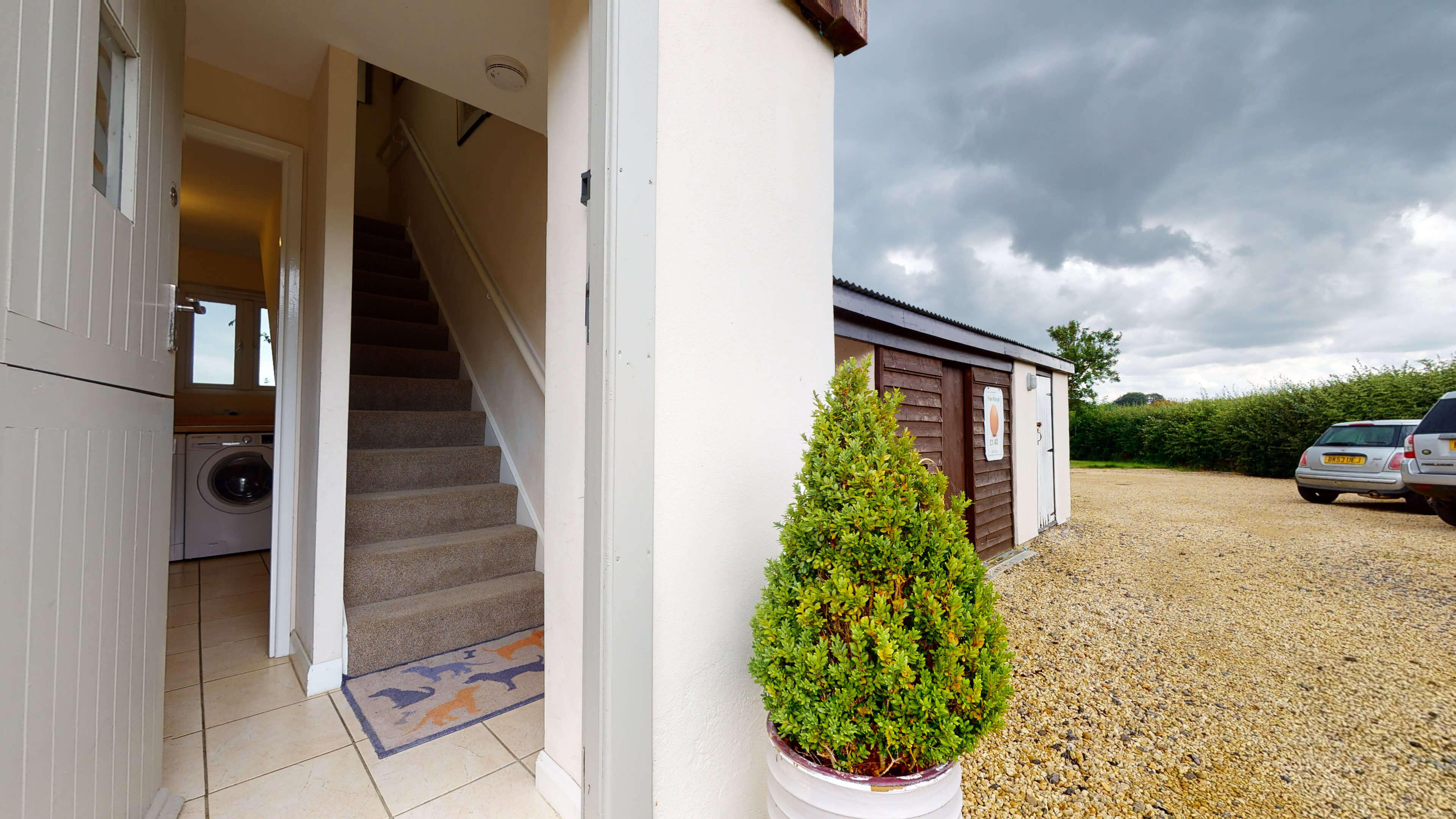 Sansoms Cottage Sansoms Loft Entrance
