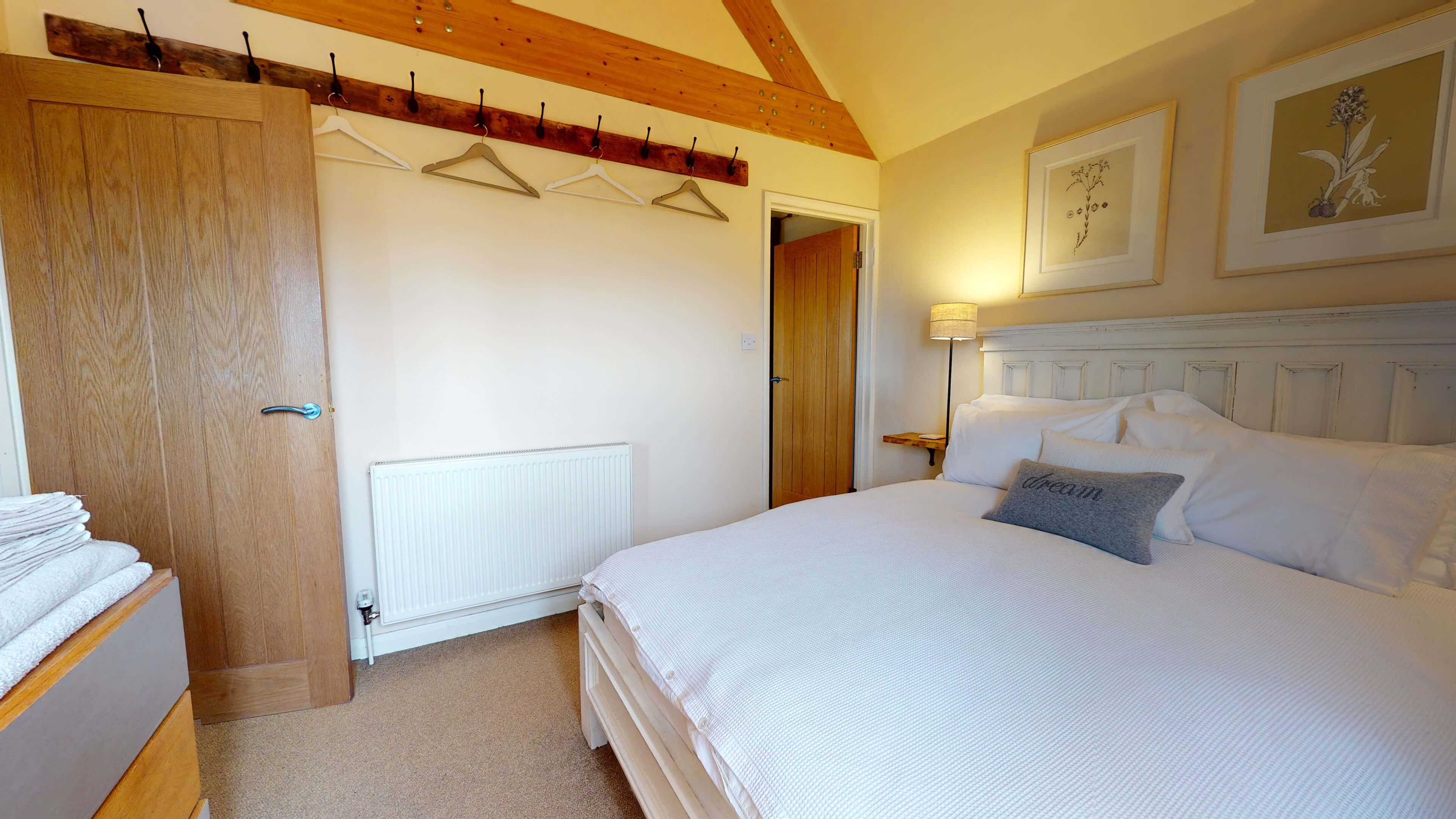 Sansoms Cottage Sansoms Loft Bedroom 1