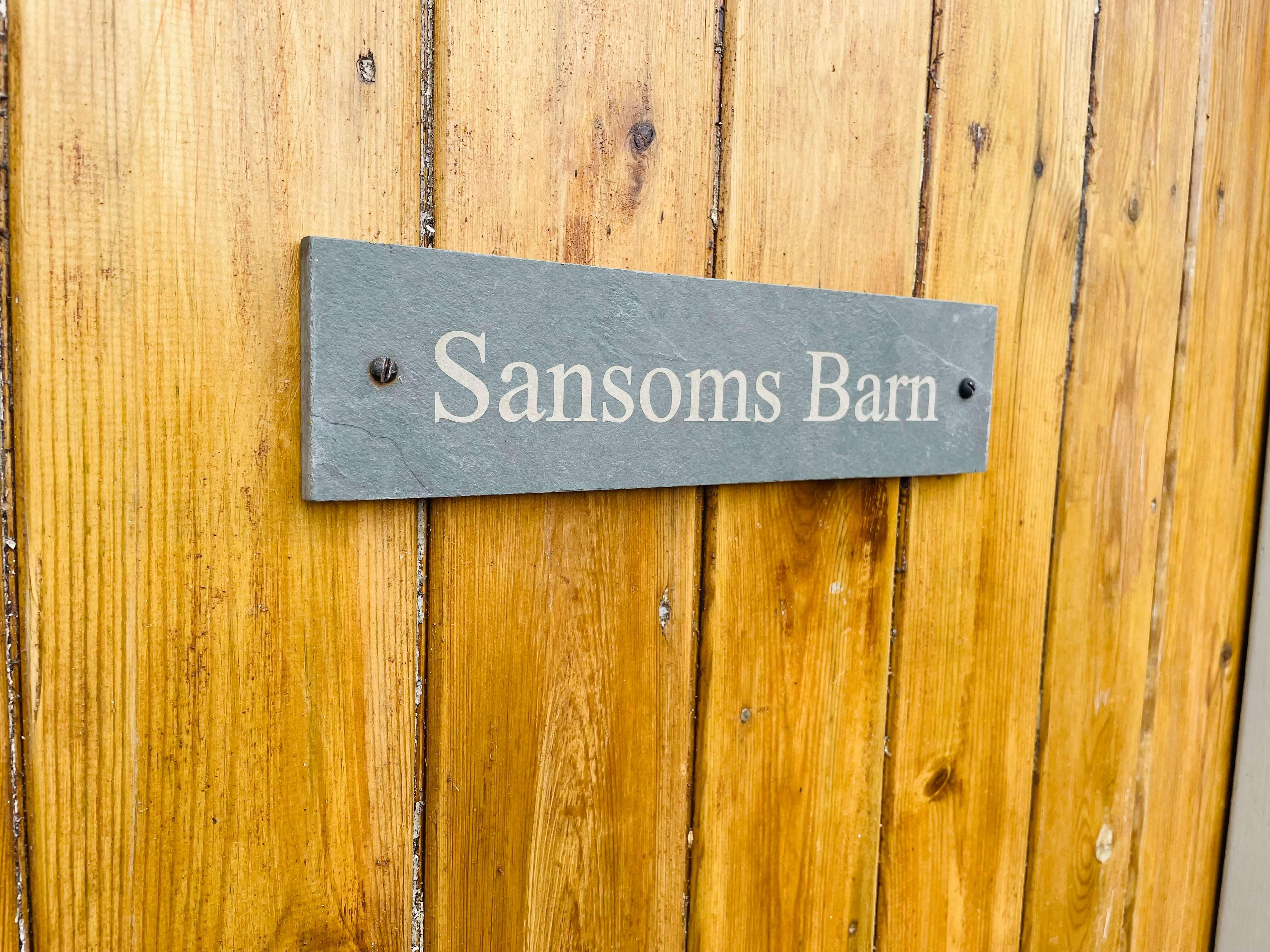 Sansoms Sign